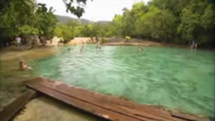 Krabi Hot Springs and Emerald
