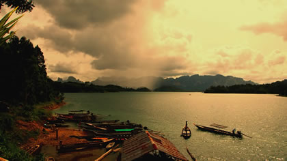 Khao Sok National Park at Nigh
