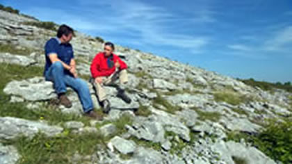 Experience the Burren with Ton